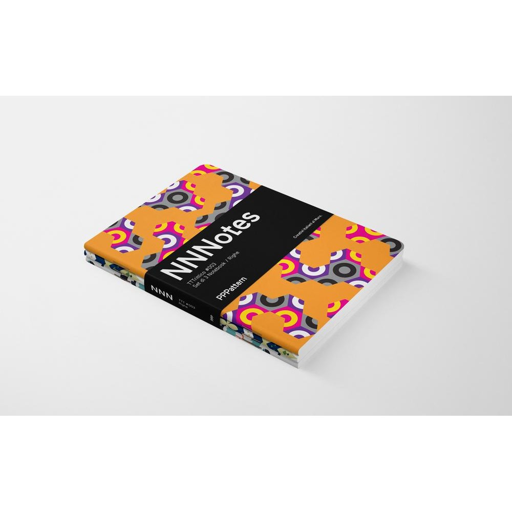 Set di 3 notebook di design NNNotes #003
