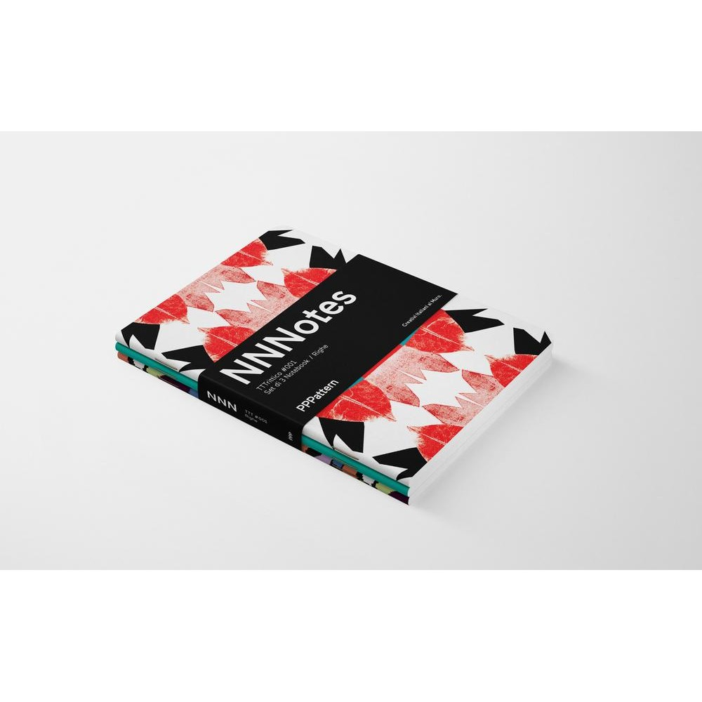 Set di 3 notebook di design NNNotes #001