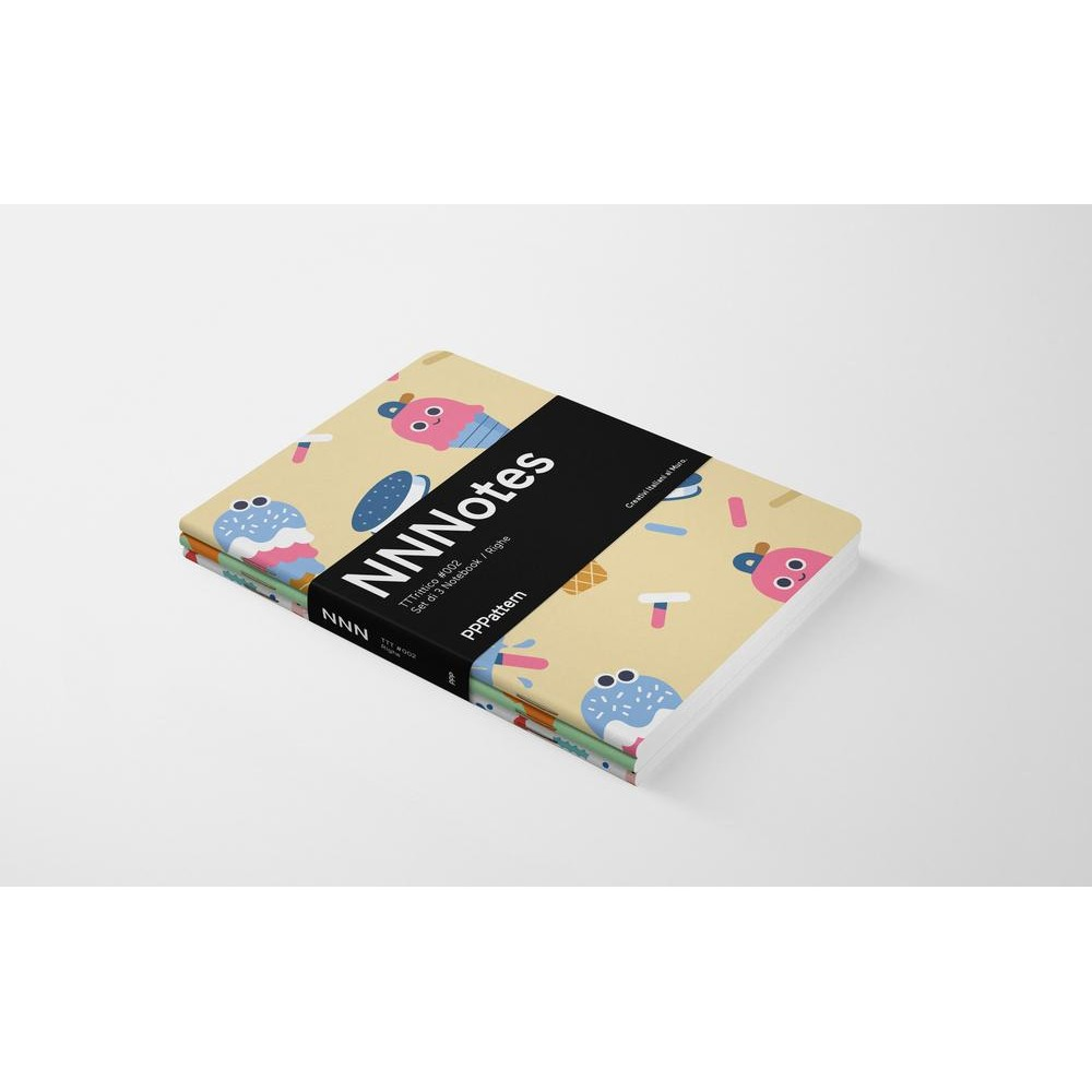 Set di 3 notebook di design NNNotes #002