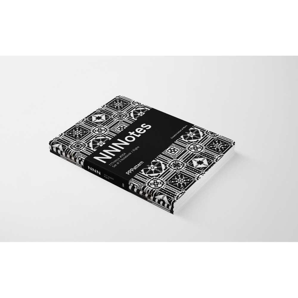 Set di 3 notebook di design NNNotes #004