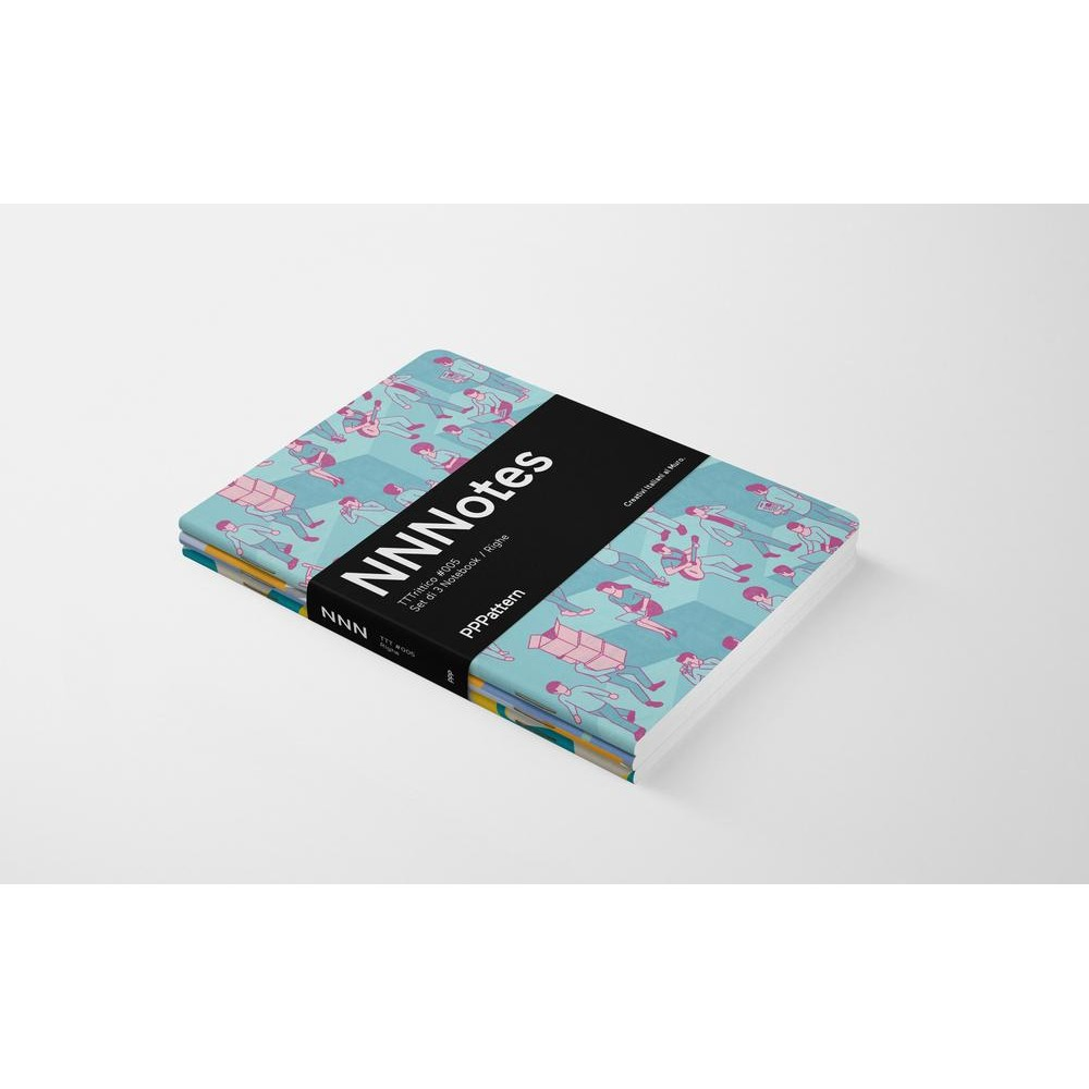 Set di 3 notebook di design NNNotes #005