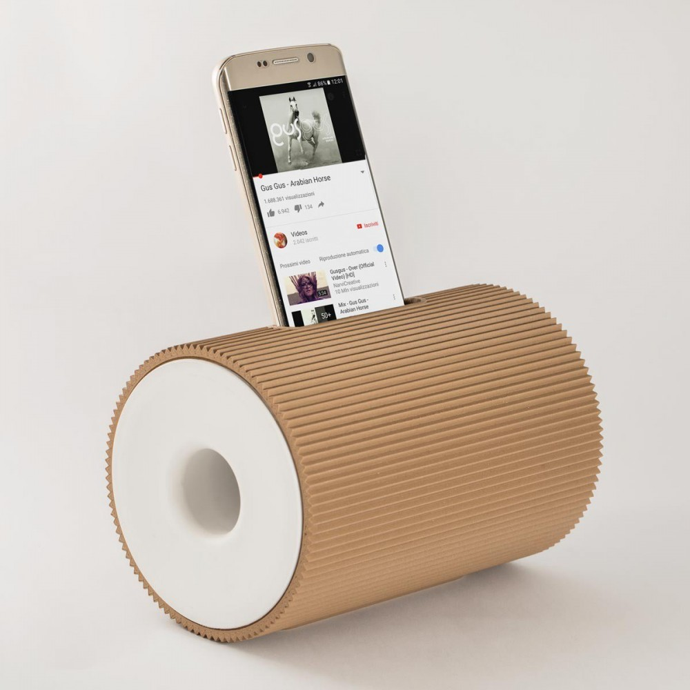Amplificatore da tavolo di design Boom Box